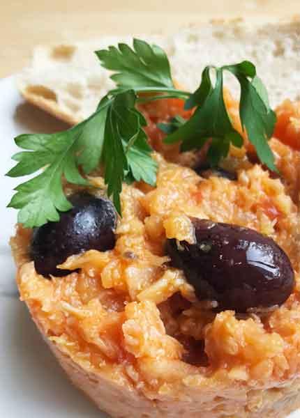 Abadejo amb olives