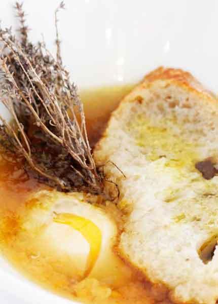 Sopa de timó gastronomia